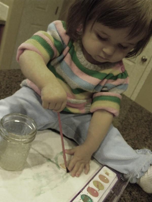 finger nail paiting