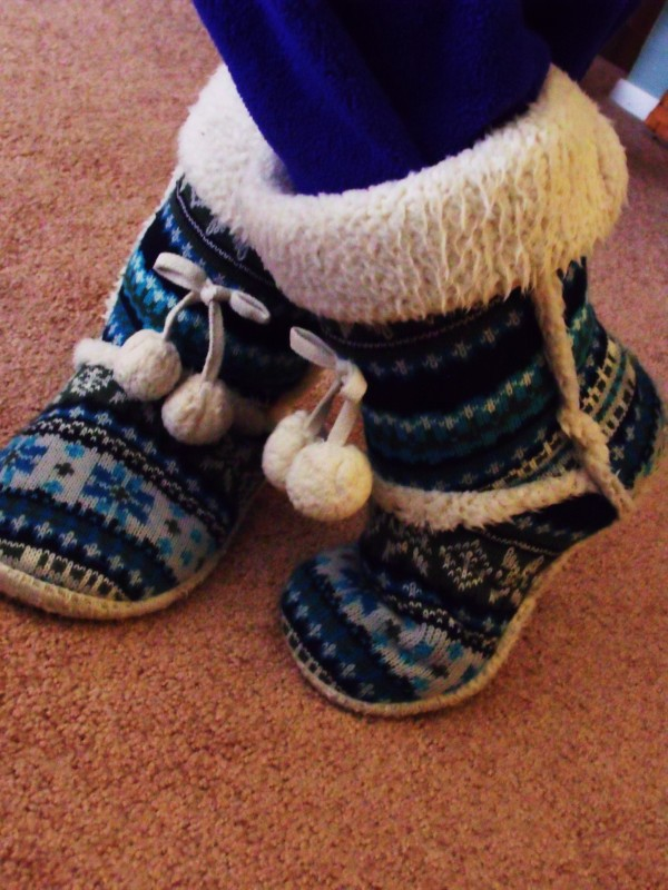 Snuffy Snuggly shoes